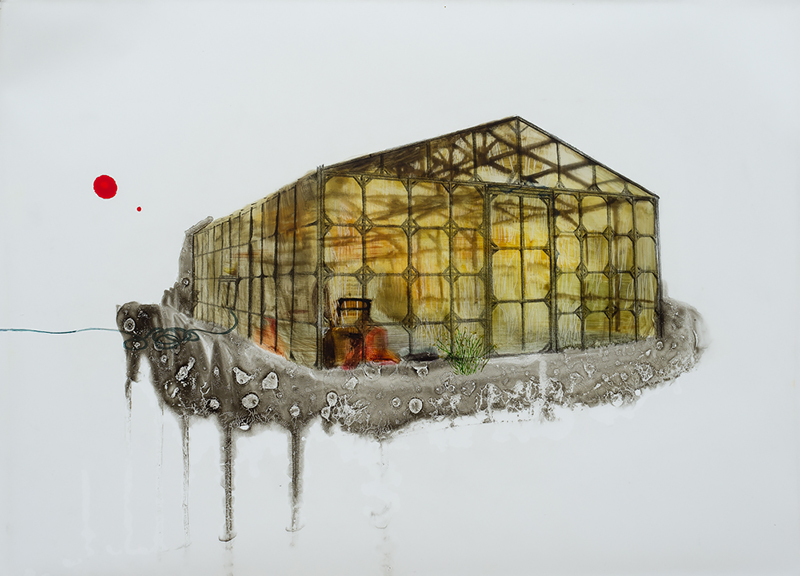 [hongzi.co.kr]10tp0201_untitled_oil on tracing paper_27.3×34.8_2011.jpg